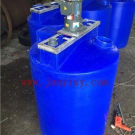 上海2立方污水搅拌罐价格 2吨耐酸碱液体储存罐