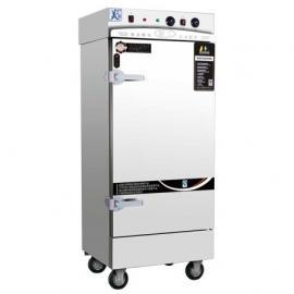 美厨蒸饭车MCKZ-JD10 精工缺水断电蒸箱 十盘蒸饭柜