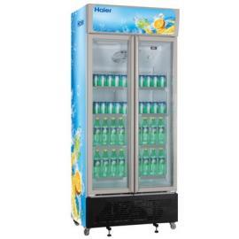 海尔SC-450G双门冷藏柜 保鲜柜 饮料展示柜