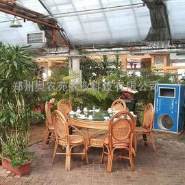生态餐厅温室大棚造价建设