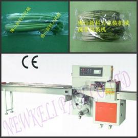【KL-T600X】全自动蔬菜包装机|蔬菜包装机操作图片