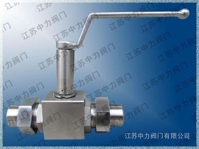 Q61F焊接式高压低温球阀