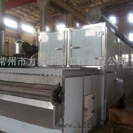 基围虾专用网带式连续烘干机烘干设备