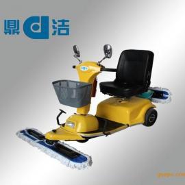 山东尘推车|DJ600电动尘推车|大型超市用电动尘推车|