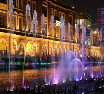 金华音乐喷泉-丽水喷泉设计-衢州水景喷泉工程-浙江嘉鹏环境艺术