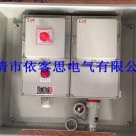 双层门防爆检修电源插座箱