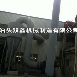 LFVB型机械回转微震反吹风扁布袋除尘器,反吹布袋除尘器