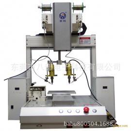 供应双烙铁全自动焊锡机器人东莞八部厂家