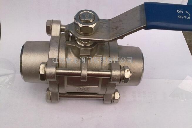 不锈钢三片式焊接球阀q61f-25p/r/rl图片