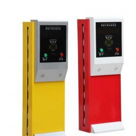 厂家直供标准出入口票箱,智能停车场系统