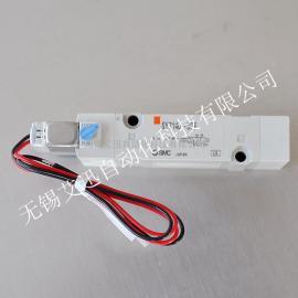 SMC原装进口 先导式电磁阀