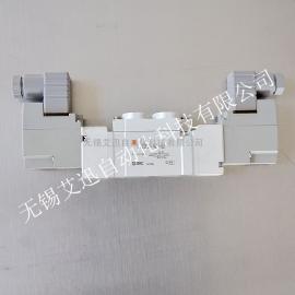 SMC原装进口 五通电磁阀