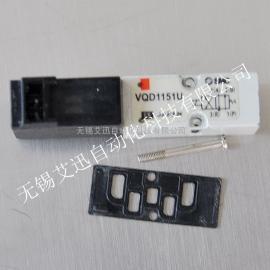 SMC原装进口 四通直动式电磁阀