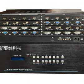 HDMI/VGA/DVI/AV混合矩阵16进16出