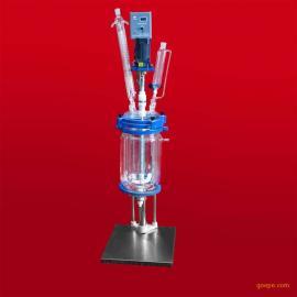 出厂价销售一批小型双层玻璃反应釜