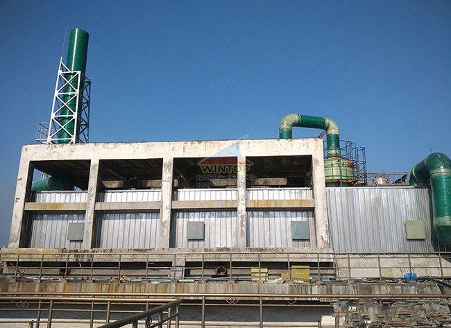 山鹰纸业污水处理,废臭气收集与净化,污水池加盖除臭