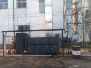 应用于光伏产业单晶炉产生的高浓度油烟废气净化装置