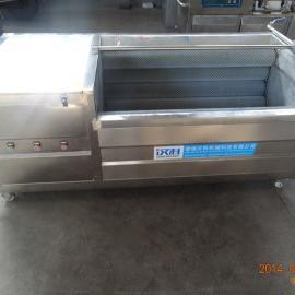 汉科供应1800型鲜土豆毛辊去皮清洗机