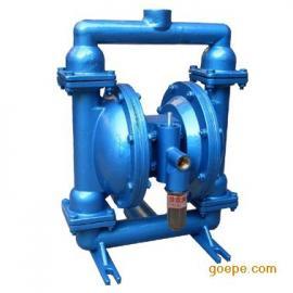QBY气动隔膜泵,QBY不锈钢(铝合金,铸铁,氟塑料)隔膜泵