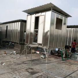 深圳喷涂线喷漆房小型供风柜/UV机过滤恒温平衡风压供鲜风柜