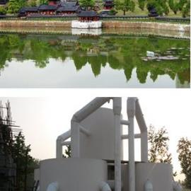 宝鸡人工湖、景观水处理设备