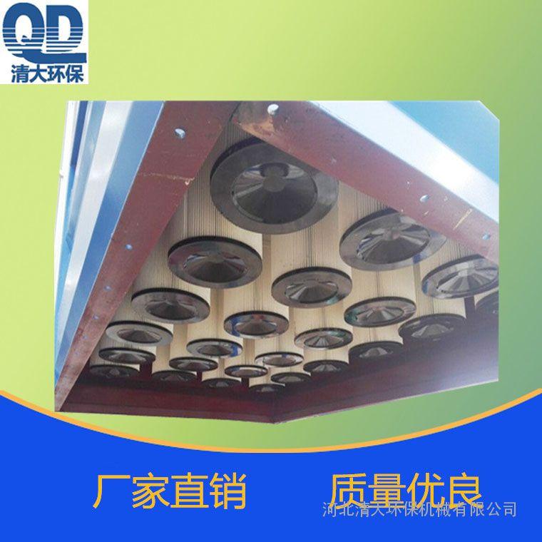 旱烟车间用滤筒除尘器小型滤筒式除尘器常温滤筒除尘器厂家