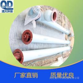 GX管式螺旋输送机 倾斜输送颗粒粉尘设备 化工行业专用给料器