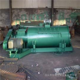 宏瑞粉尘加湿机单轴粉尘加湿机粉尘搅拌机处理量大、结构紧凑