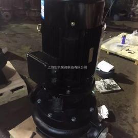 仿南方管道泵,TD管道泵,一件代发,TD100-52/2,铝壳电机水泵