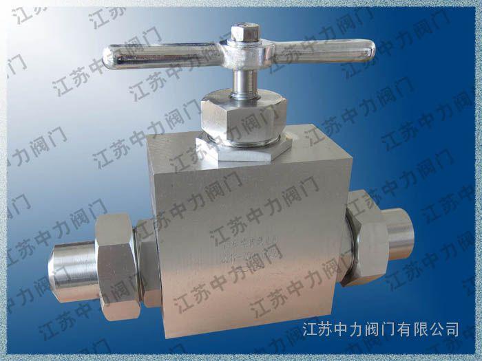 FUK不锈钢焊接式超高压截止阀