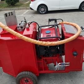 河南厂家直供手推式沥青灌缝机/路面灌缝设备/小型沥青灌缝修补