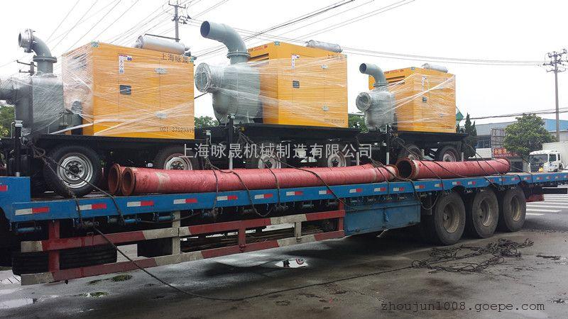 12寸防汛排涝柴油机水泵
