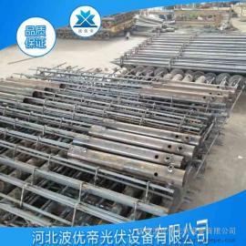 螺旋地桩 光伏设备 预埋桩基 质量保证