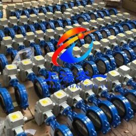 电动法兰蝶阀电动对夹蝶阀的安装与使用注意事项