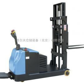 北京品牌 普尔夫平衡重堆垛车 无腿堆高车 配重式电动堆高车