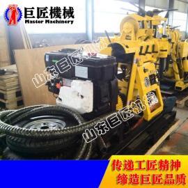 沈阳直供小型轮式打井机 巨匠XYX-180型液压钻井机