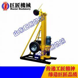 150米气动水井钻机 巨匠直供KQZ-150D气动打井机
