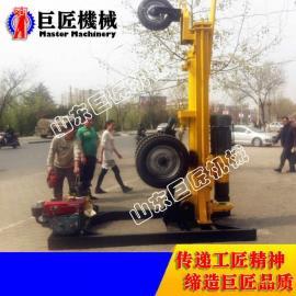 200米气动打井机 山东巨匠KQZ-200D气动钻井机低价