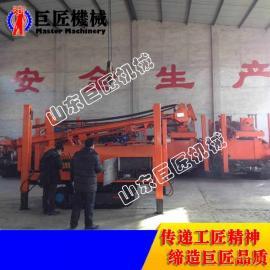 CJD-200履带式气动水井钻机 200型冲击式气动打井机