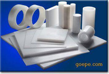 大量出售耐气候性OVDF棒(进口乳白色聚二偏氟乙烯棒)