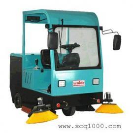 威德尔全自动大型清扫车 工厂园区用驾驶式双刷扫地机CS-2100