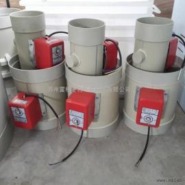 PP电动风阀-电动风阀价格-苏州厂家直销品牌