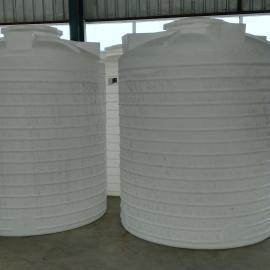5方塑料圆柱形水箱5吨耐腐蚀水箱兰州塑料大桶厂家直销