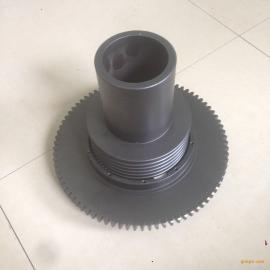 高精度空心滚珠丝杠/轴承钢材质/辊道硬度60±2°/欢迎致电