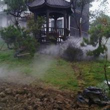 洛阳景观造雾-人造雾设备-洛阳喷雾降温-雾森冷雾系统工程