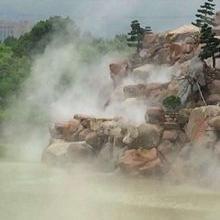 芜湖园林雾森系统工程 ,芜湖景观冷雾设备雾效假山-嘉鹏安徽