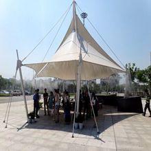 上海喷雾景观工程 嘉鹏静音防堵喷雾系统 中国精工设备
