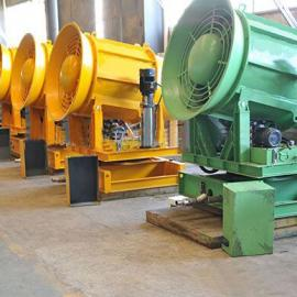 铁路货场降尘抑尘水雾喷雾机雾炮机 粉尘控制器射雾器自动型
