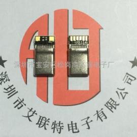 3.1无缝不带板加长公头-C-type型(镀镍)