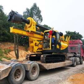 小型旋挖机15M打桩机械